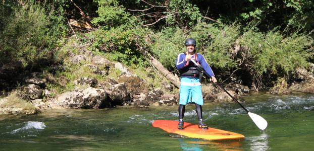 Stand up Paddle dans les gorges du Tarn